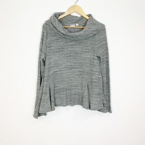 Anthropologie Postmark | Gray Waffle Knit Cowl | M